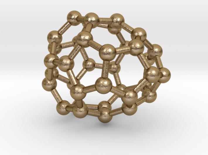 0034 Fullerene c36-06 d2d 3d printed