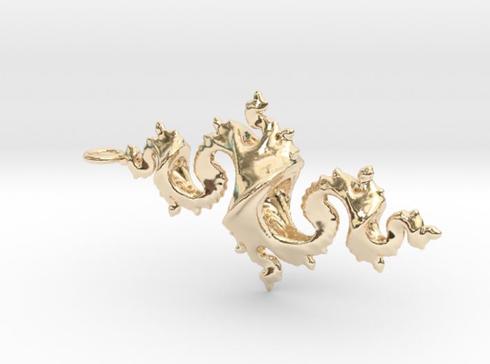 Dragon Pendant 6cm 3d printed