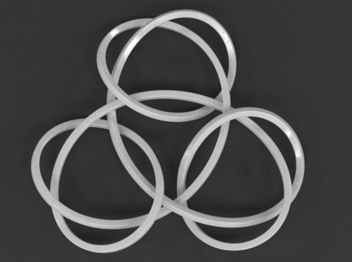 Trinity Knot Pendant 3d printed