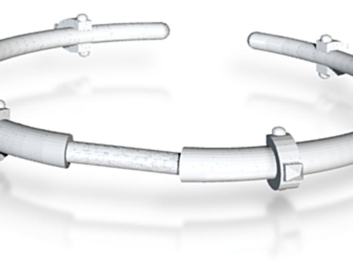Revival Horn Cuff - Medium 3d printed