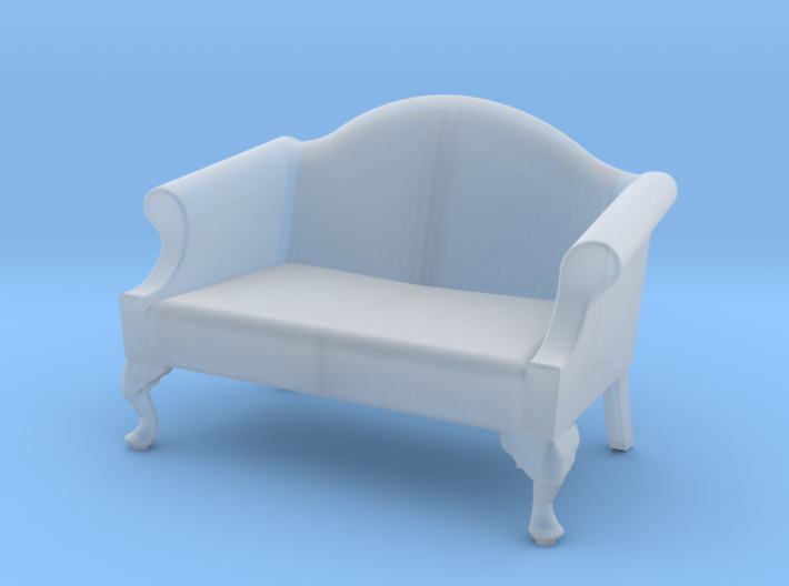 1:48 Queen Anne Loveseat 3d printed