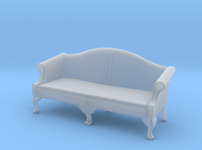 1:48 Queen Anne Sofa (Large) 3d printed