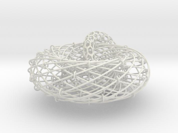 Torus Magic with Ring 1 3d printed