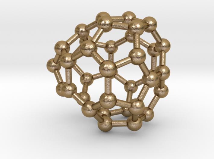 0037 Fullerene c36-09 c2v 3d printed