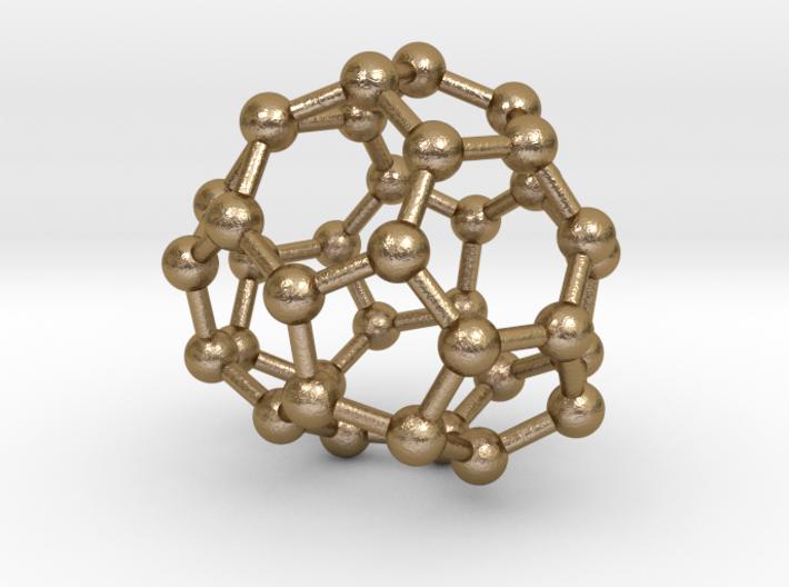 0039 Fullerene c36 -11 c2 3d printed