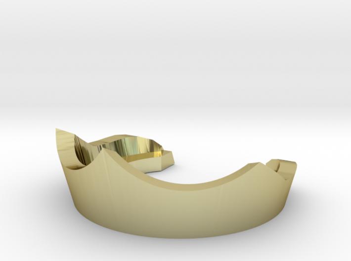 Replacement crown for 1980s King Randor of MOTU 3d printed