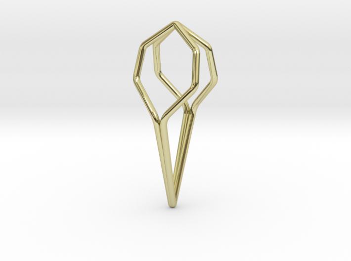 A-LINE Honeyfull, Pendant. Pure Elegance. 3d printed