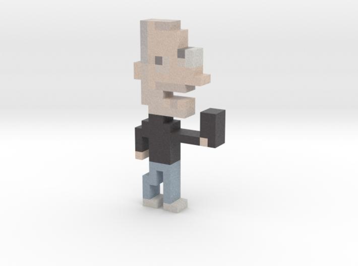 Steve Jobs iotacon 3d printed