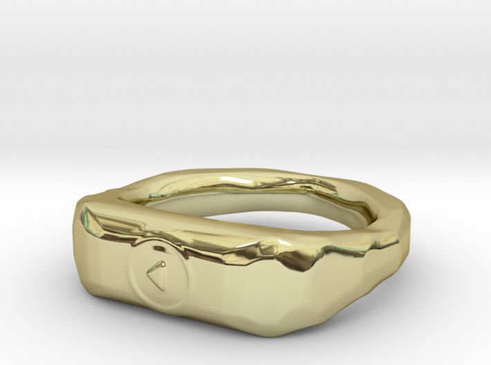 """""""Play"""" ring 1-st edition, """"Player"""" jewelry collect 3d printed"""