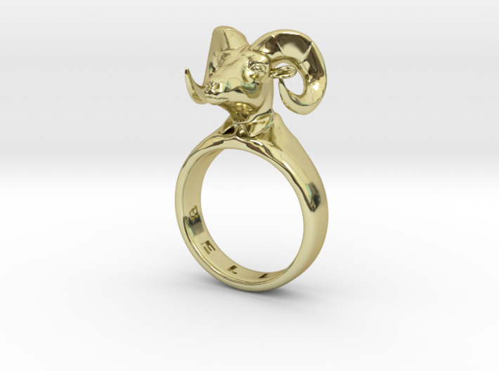Bellyn Ring 3d printed