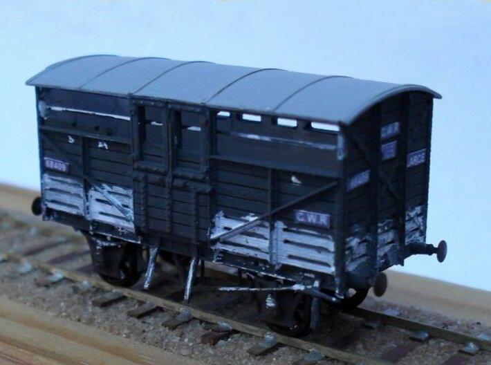 2mmFS GWR diag W1/5 Cattle Wagon (x3) 3d printed