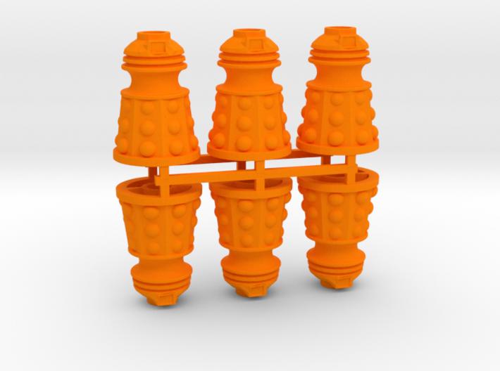 Dalek Post Version B (six pack) 3d printed