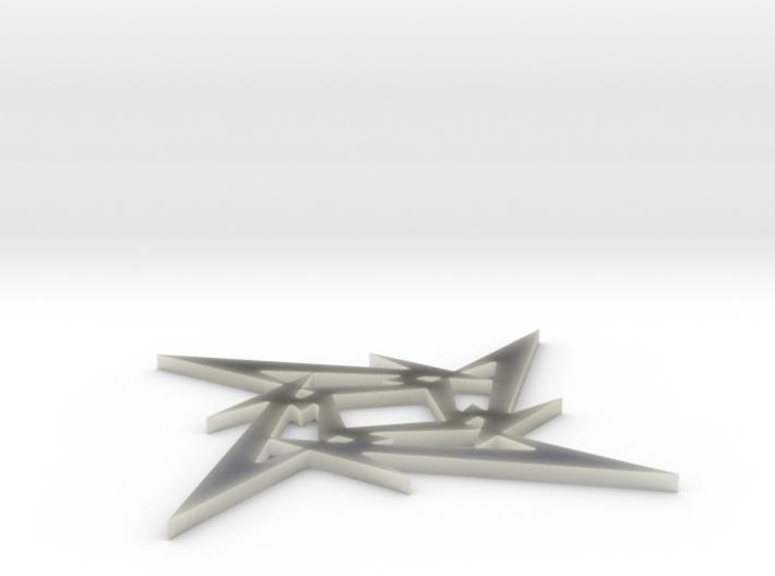 Metallica logo 3d printed