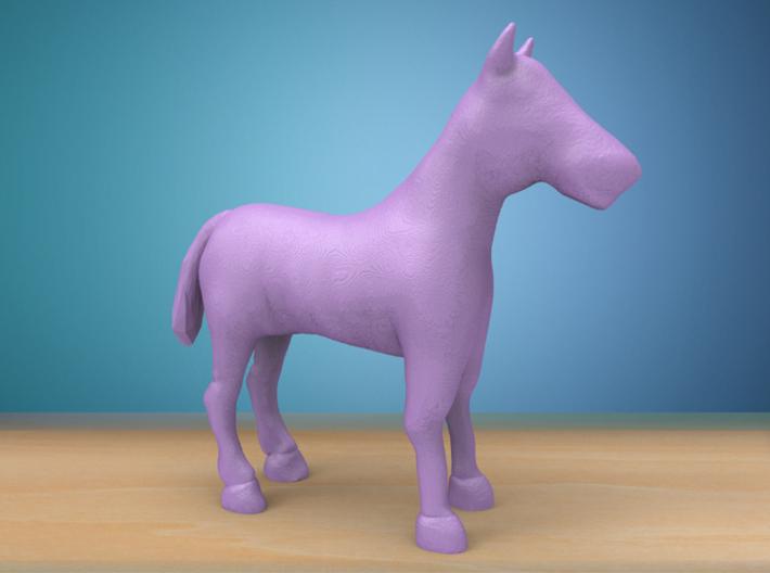 Miniature Horse 3d printed
