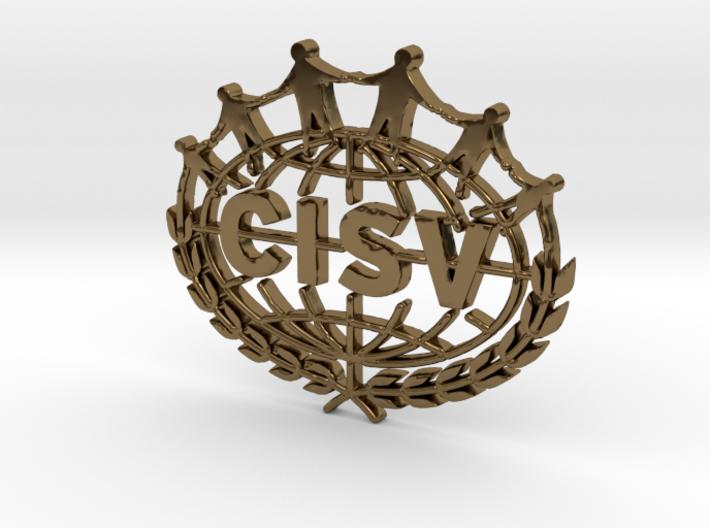 CISV Logo 3d printed