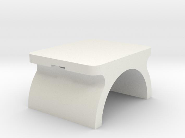 Led Leg Plate 3d printed