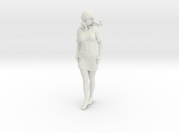 Peasant Girl 3d printed