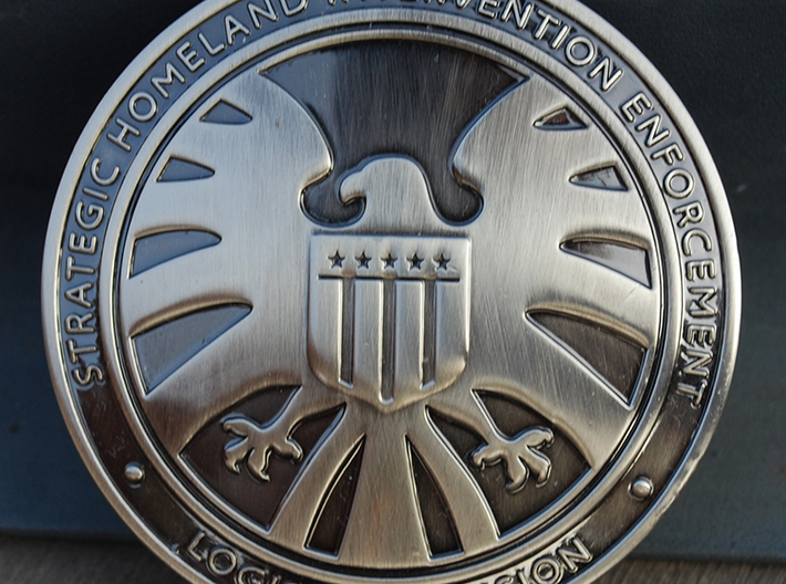 Agent of Shield Badge 3d printed *not actual product
