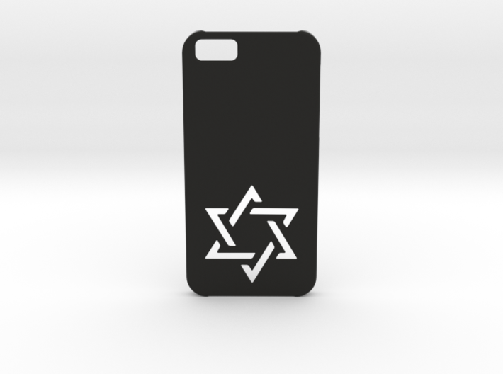 I-phone 6 Case: Israëli Star 3d printed