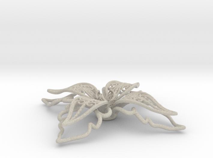 fleur de lys, giglio, lily 3d printed