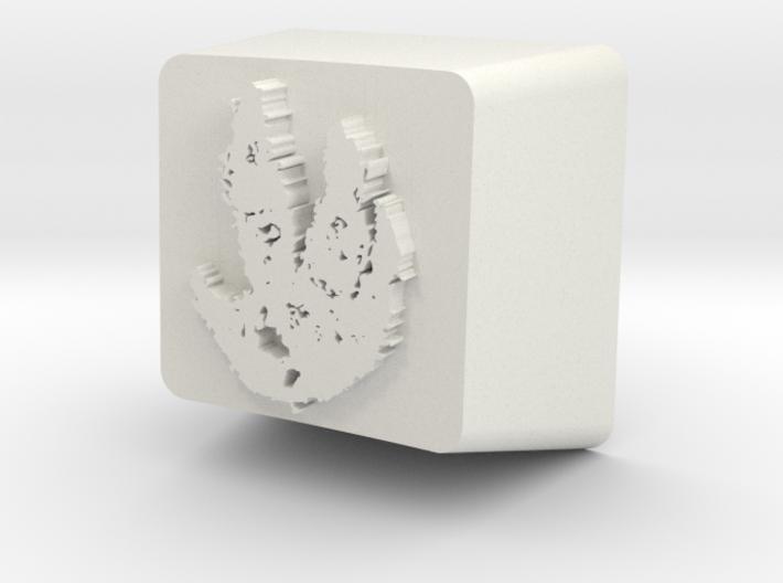 Cherry MX Evolve Keycap 3d printed
