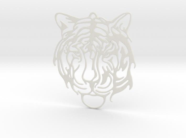 Big Tiger Amulet 3d printed