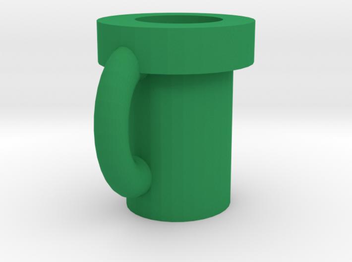 Super Mario Pipe Mug 3 3d printed