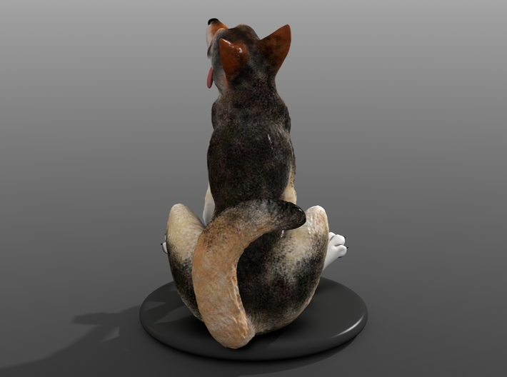 Silly Wolf 3d printed Example 2