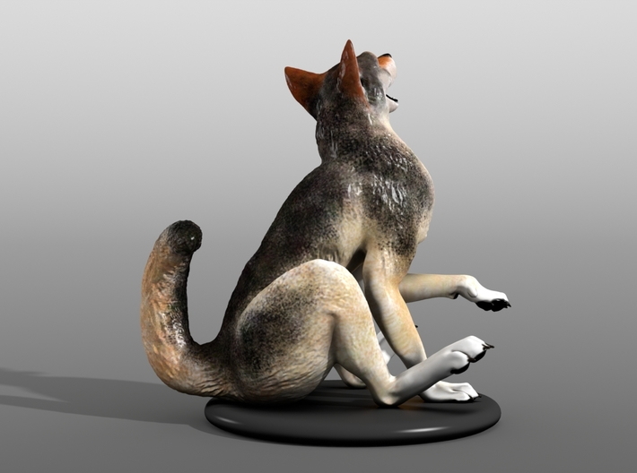 Silly Wolf 3d printed Example 6