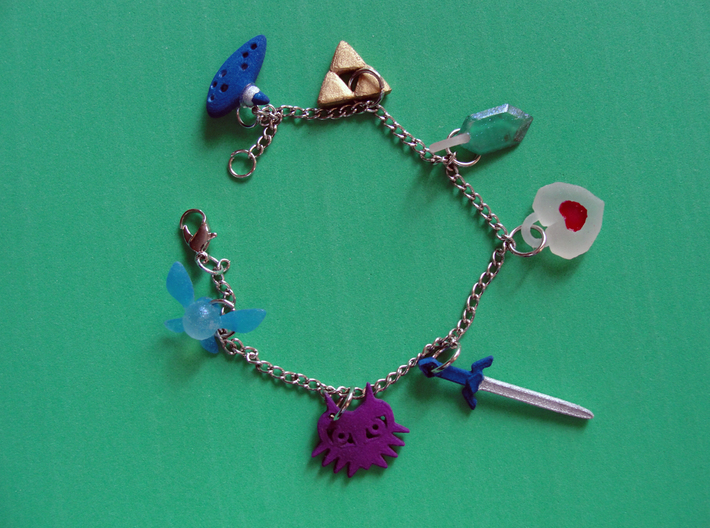 Zelda charms PART A 3d printed