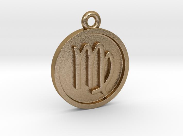 Virgo/Jungfrau Pendant 3d printed