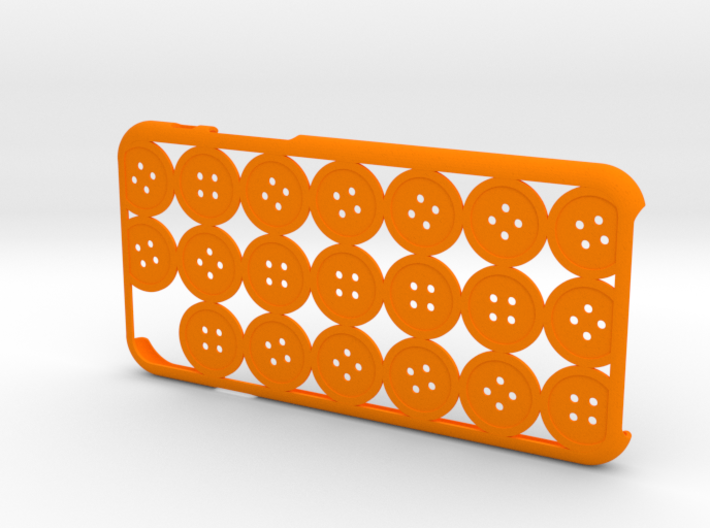 Button iPhone6 case for 4.7inch 3d printed