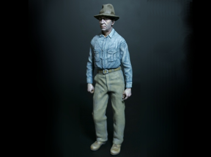 SE Fred Figure with 2 hats 3d printed Fred assembled and painted with acrylics.