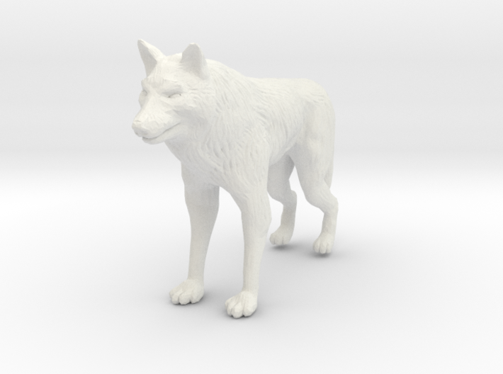 Wolf Miniature 3d printed