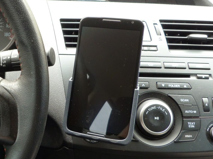 Motorola Nexus 6 - Qi Wireless Car Charge Dock 3d printed