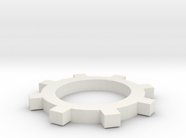 Simple Gear 3d printed