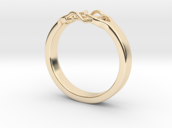 Roots Ring (21mm / 0,82inch inner diameter) 3d printed