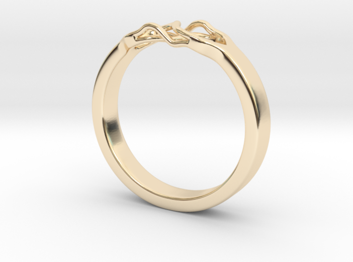 Roots Ring (28mm / 1,1inch inner diameter) 3d printed