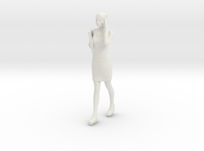 Half Scale Woman Walking 3d printed