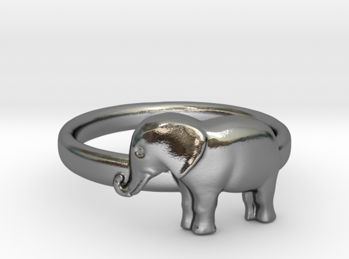 Elephant Ring 3d printed