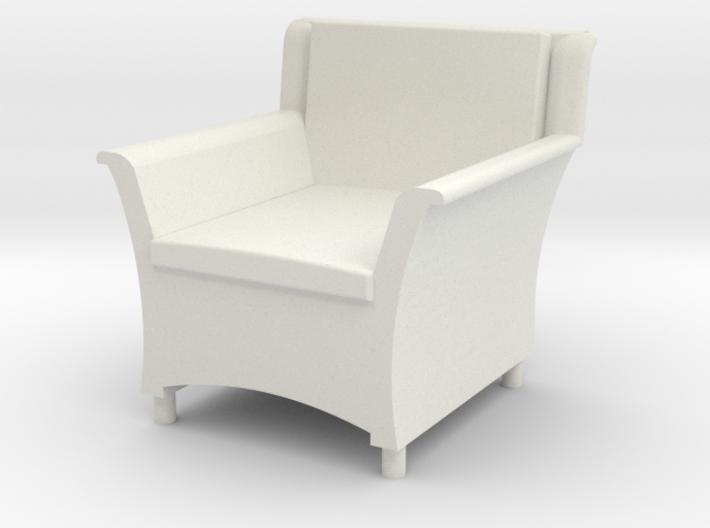 1:48 Wicker Armchair 3d printed