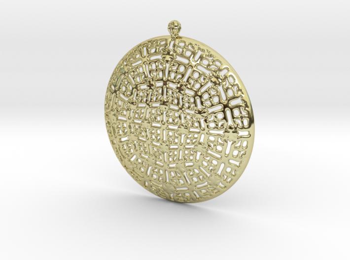 PA Medalion F2c45x6Se731-wax 3d printed