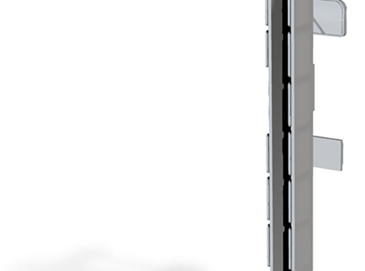 Windows for Volvo B10M HT bus 2-2-1 3d printed