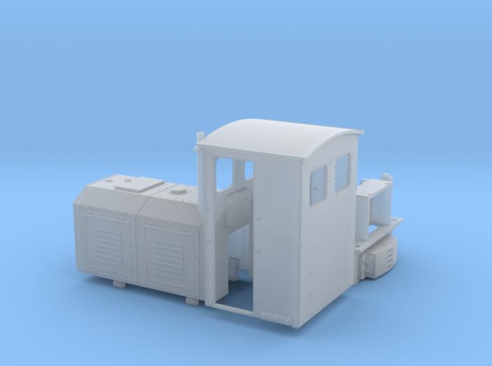 Feldbahnlok LKM Ns2h Spur 0e/0f 1:45 3d printed