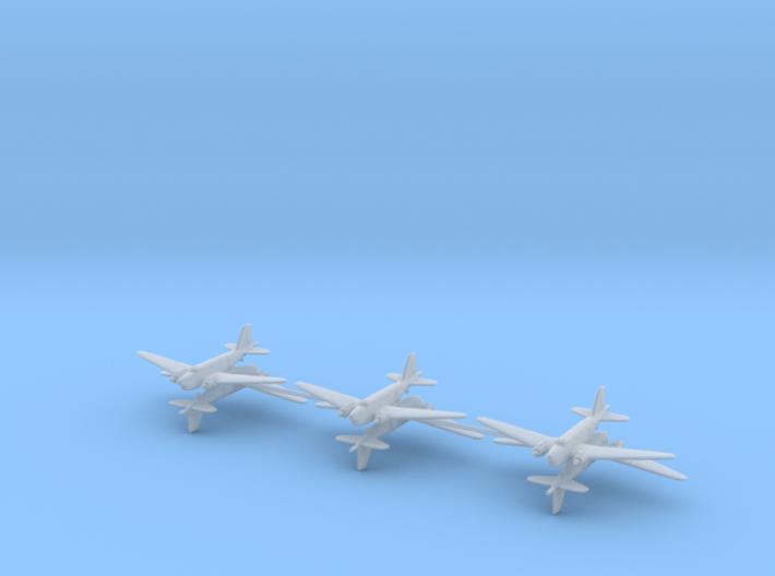 Douglas B-18B 1/600 Bolo (6 airplanes) 3d printed