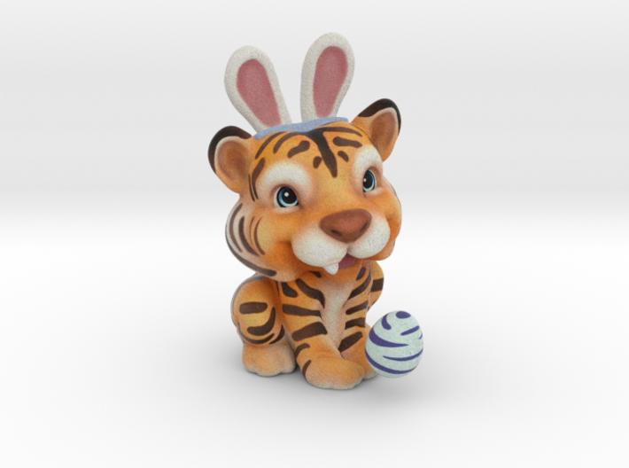 Tina the Tiger 3d printed