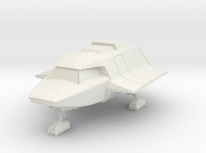 Skyfighter Landed (V, The Visitors) 3d printed Version 2 Model
