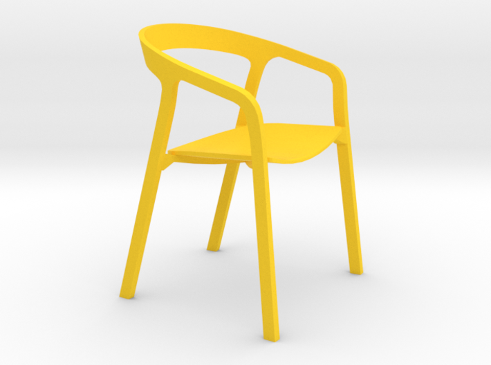 Modern Designer Chair #2 1:12 scale  3d printed
