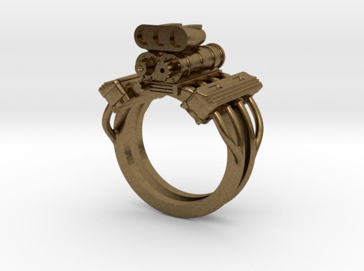 V8 ENGINE RING 3d printed