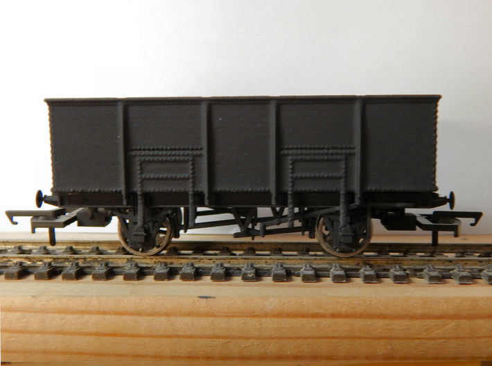 GWR N34 Steel Bodied 21t Loco Coal Wagon (00) 3d printed Add a caption...
